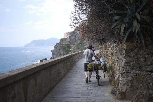 Cinque Terre - Via del amore (interdit aux vélos)