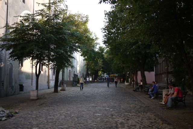 Belgrade - une rue piétonne