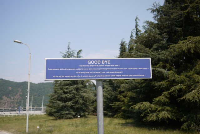 Goodbye Serbia