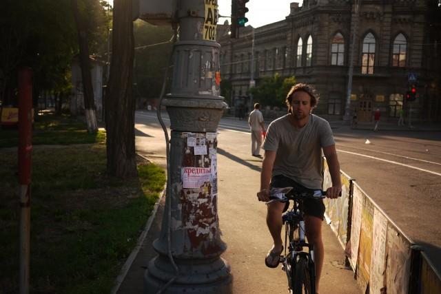 Riding in Odessa