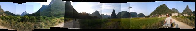 Environs de LiuGong et Yangshuo
