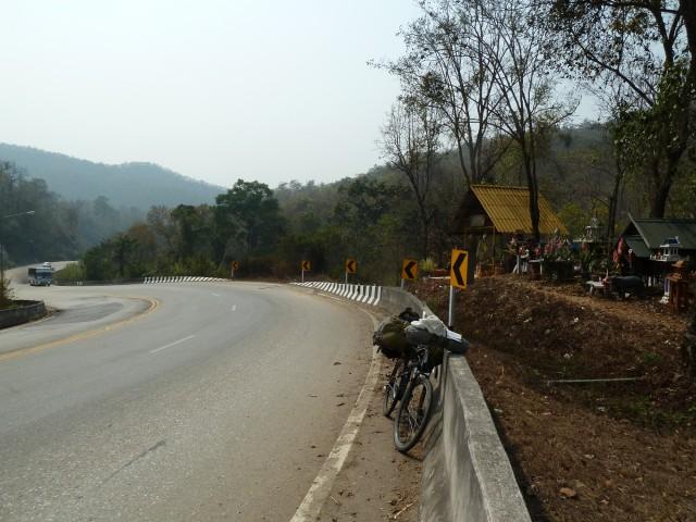 vélo route chiang rai