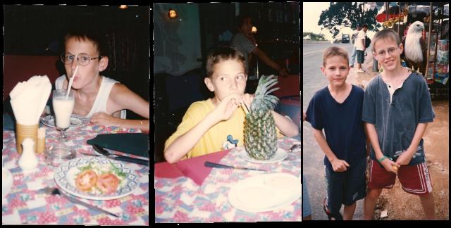 Phuket - 15 ans plus tôt
