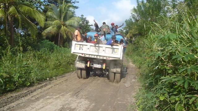 Papouasie Nouvelle Guinée - Transport public
