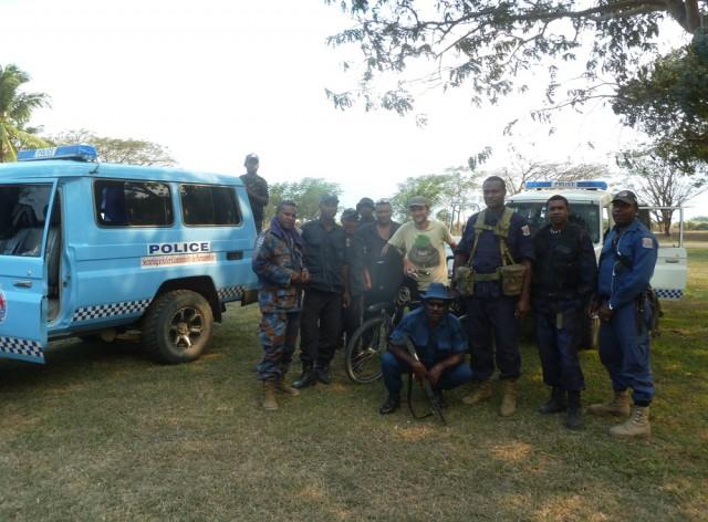 Papouasie Nouvelle Guinée - police