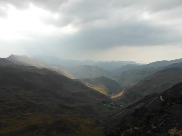 Sur la route de Chalus, à 3200m de haut